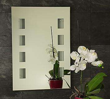 beleuchteter badspiegel t4 neonr hre 70 50 cm dc96. Black Bedroom Furniture Sets. Home Design Ideas