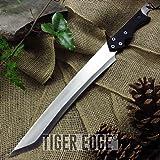 Kukri Machete with Carbon Sharp Blade Durable 20.625