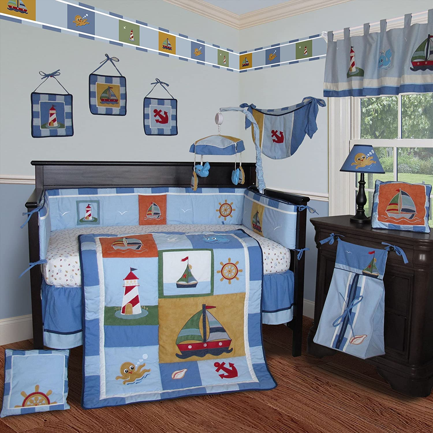 Nautical Infant Bedding: Totally Kids, Totally Bedrooms