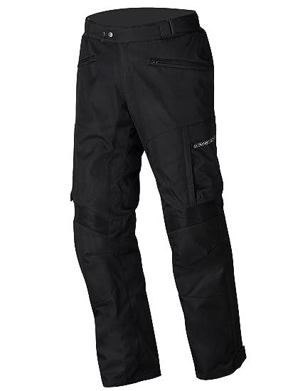 NERVE 1511070504_04 Move Pantalon Moto d'Eté Textile, Noir, Taille : L