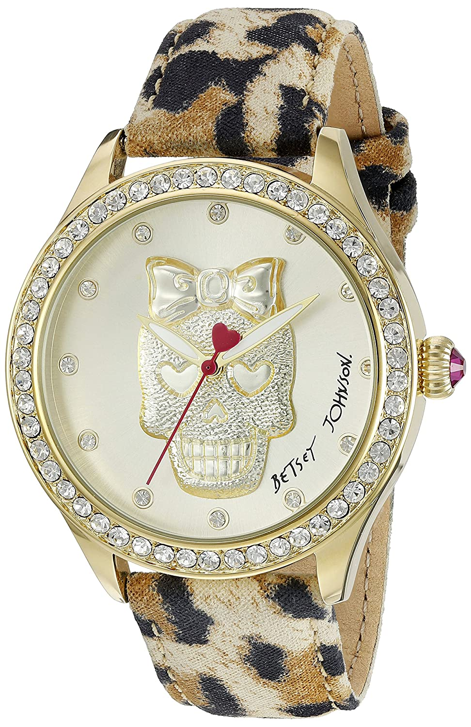 Betsey Johnson Women's BJ00517-24 Analog Display Quartz Multi-Color Watch