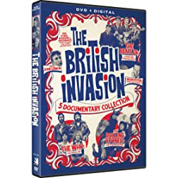 British Invasion - The Beatles, The Rolling Stones and The Who