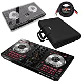 Pioneer DDJ-SB3 2-Channel Serato DJ Controller & Pig Hog Cable (With Cover & Case) (Tamaño: With Cover & Case)