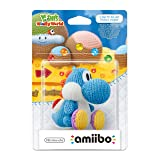 Light Blue Yarn Yoshi amiibo - Europe/Australia Import (Yoshi's Woolly World Series) (Color: Light Blue Yarn Yoshi)