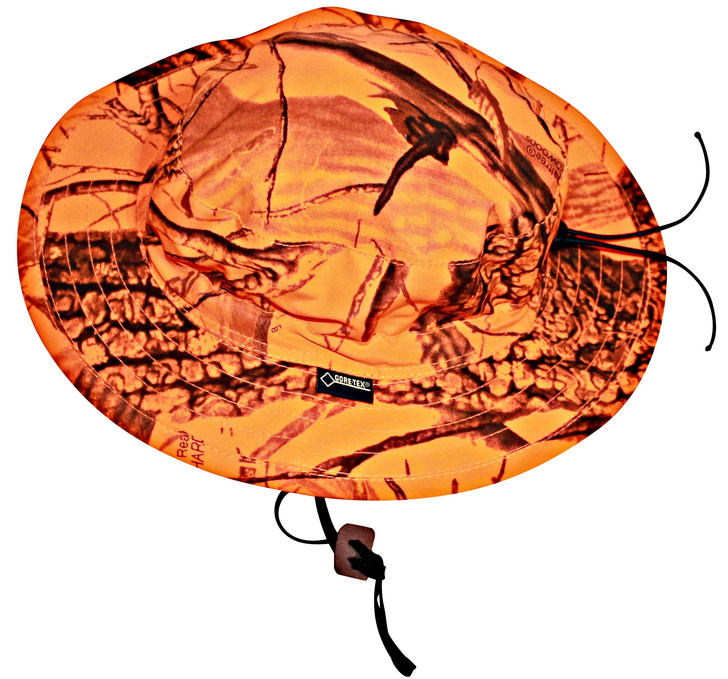 Realtree Blaze Orange Gore Tex Boonie Hat Camo Chique