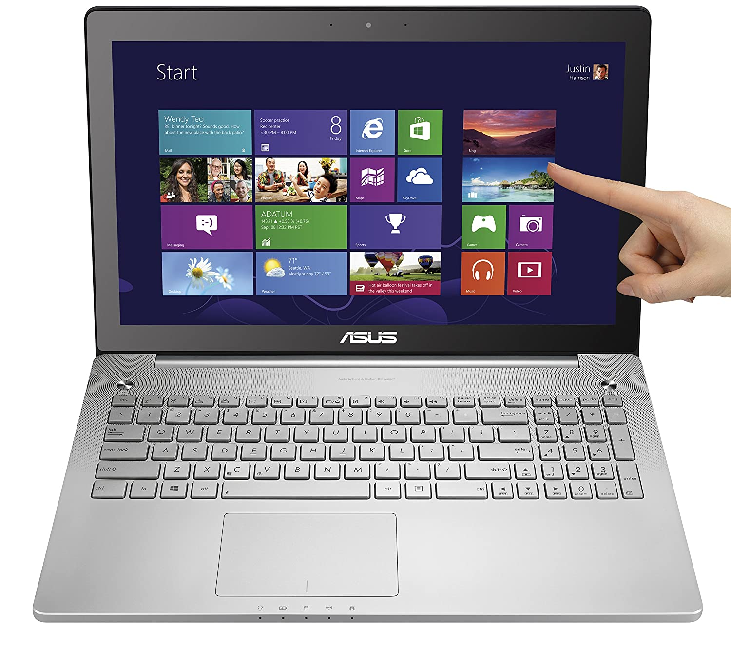 ASUS-N550JK-DS71T-16-Inch-Touchscreen-Laptop-2-4GHz-Intel-Core-i7-4700HQ-8GB-RAM-and-1TB-HD-Windows-8-Silver-Grey