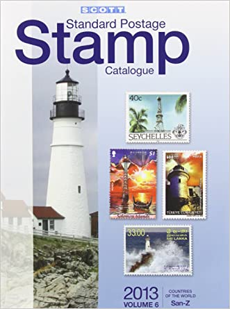 2013 Scott Standard Postage Stamp Catalogue Volume 6 Countries of the World San-Z (Scott Standard Postage Stamp Catalogue: Vol.6: Countries Solomon Islands-Z)