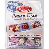 Witors Italian Taste Tiramisu E Stracciatella Milk Chocolate Turffles 28.2 Ounce Bag