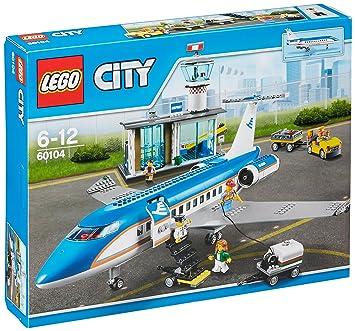 LEGO - 60104 - City - Jeu de construction  - Le Terminal pour Passagers
