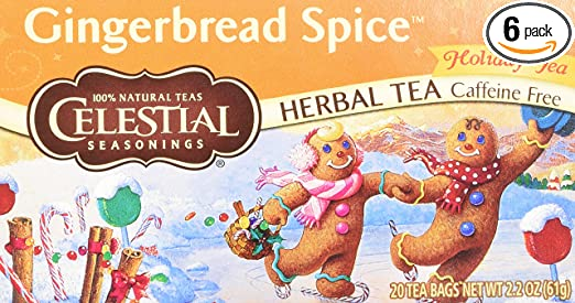 Celestial Gingerbread Spice Tea Tea Gingerbread Spice Herb