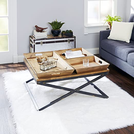 Calhoun Industrial Collection Coffee Table by Silverwood