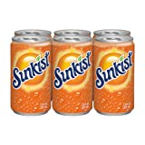 Sunkist Orange Soda, 7.5 fl oz cans, 6 count