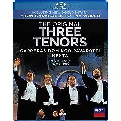 The Original Three Tenors in Concert, Rome 1990 [Blu-ray]