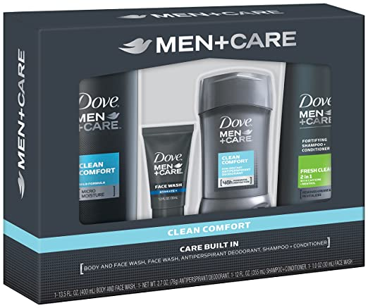 Dove Men + Care Gift Box, Clean Comfort