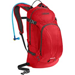 Camelbak Mule Hydration Pack with Antidote Quick Link Reservoir (Red)