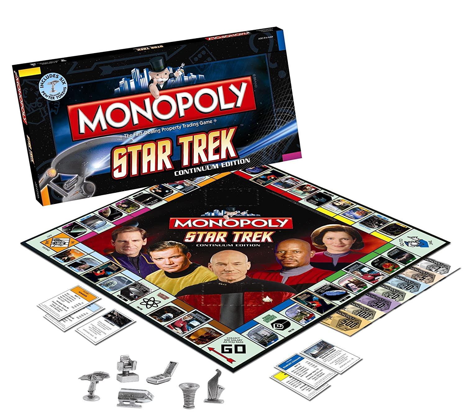 Monopoly Star Trek Collector's Edition - in English
