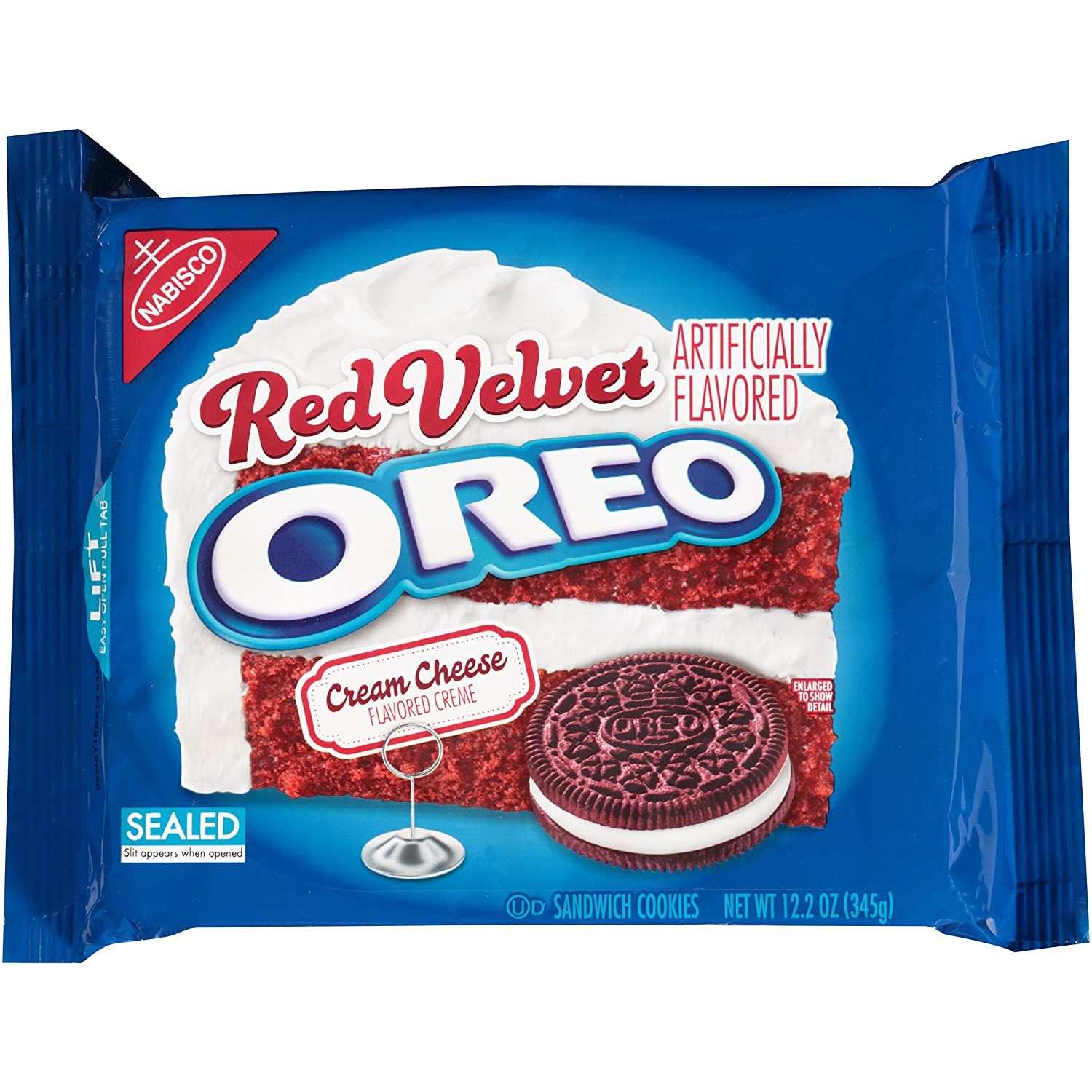 Oreo Red Velvet Sandwich Cookies (12.2-Ounce Package)