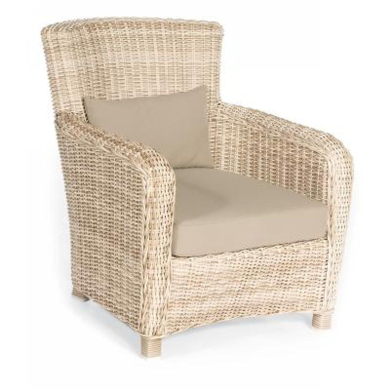 Sonnenpartner Gartenstuhl Lounge Sessel Fago antik weiß 80061932 bestellen