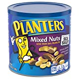 Planters Mixed Nuts, Salted, 56 Ounce Canister
