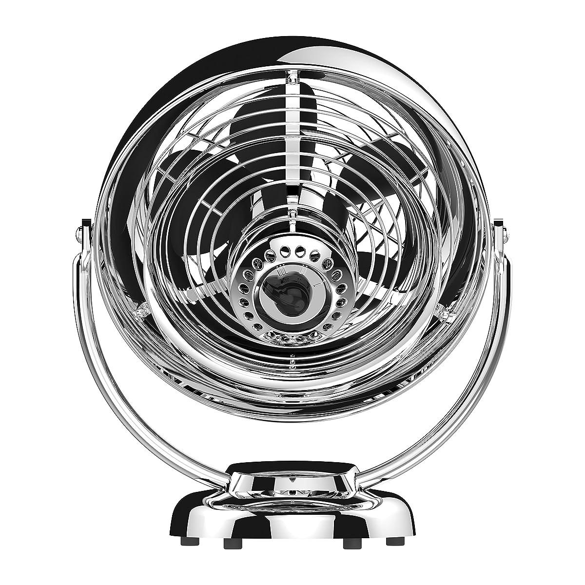 Vornado VFAN Vintage Whole Room Air Circulator, Chrome