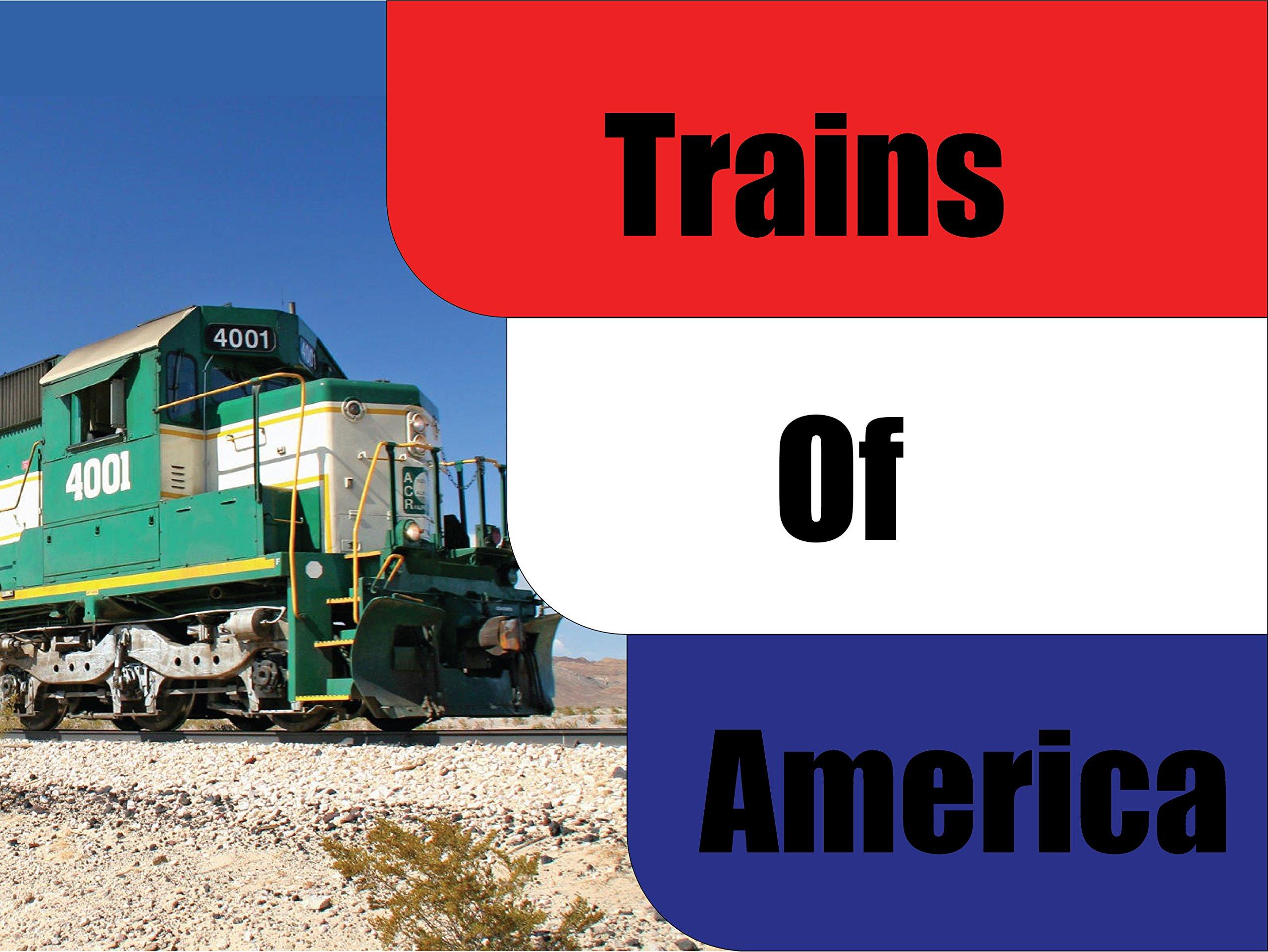 Trains of America on Amazon Prime Video UK