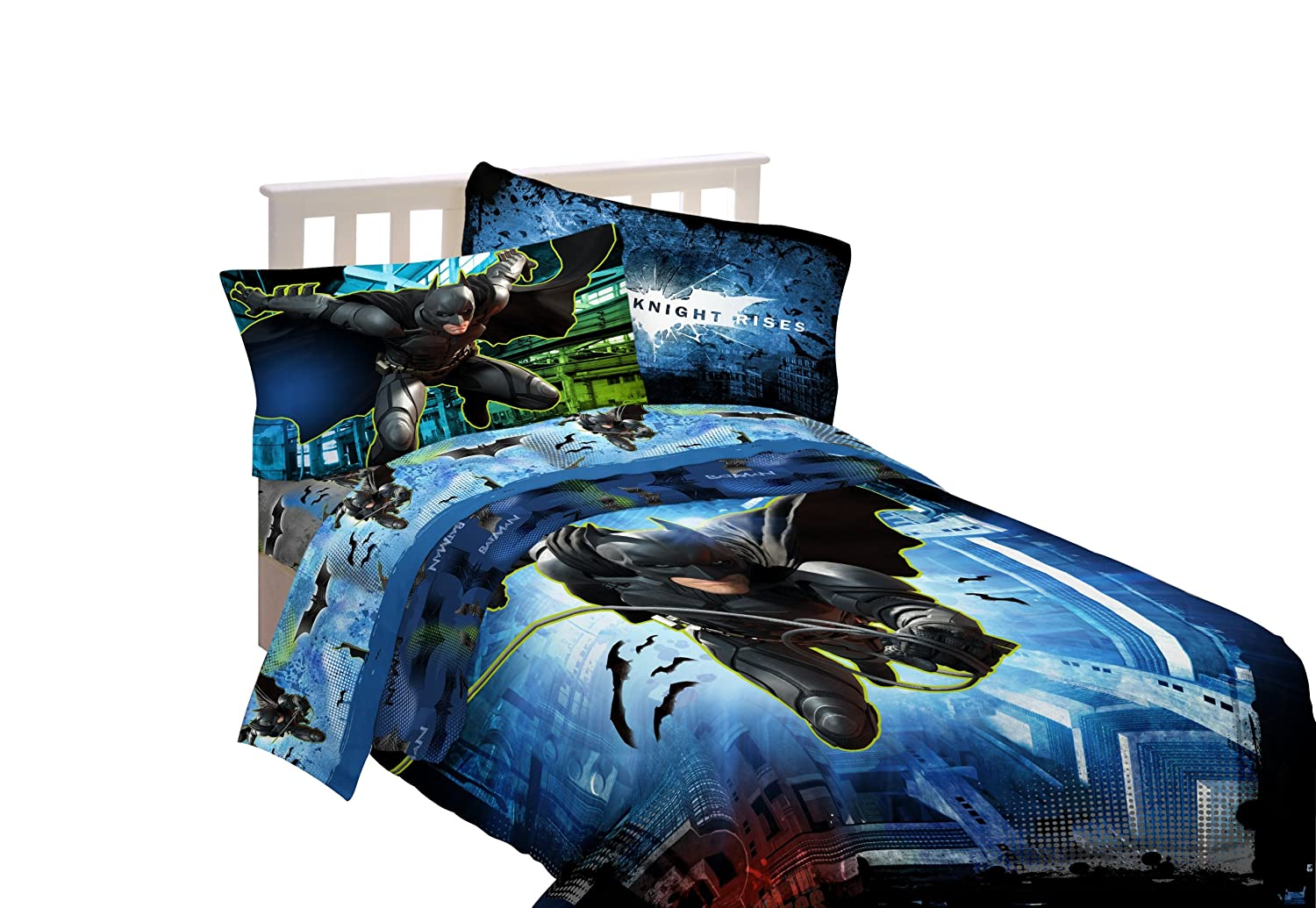 Warner Bros Batman Forced Darkness Twin/Full Comforter