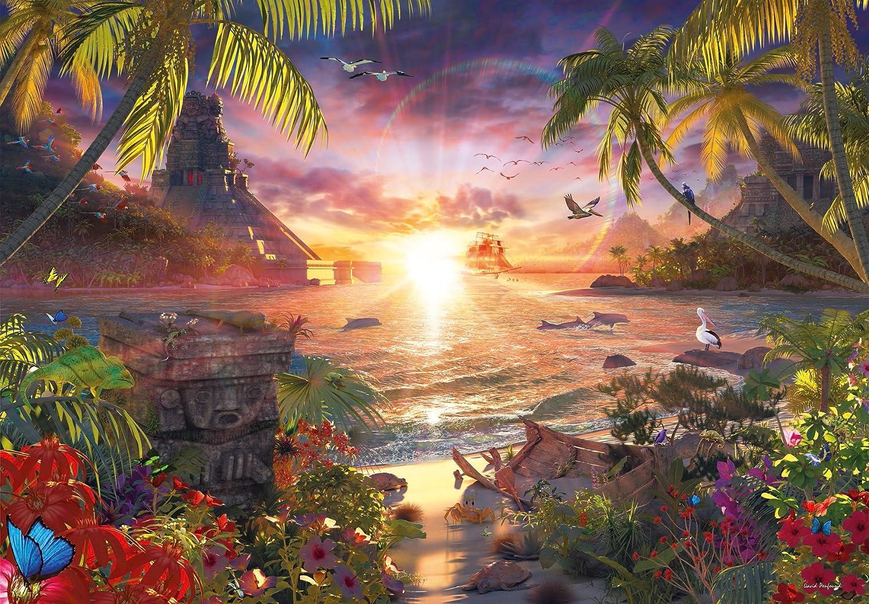 Paradise Sunset puzzle Ravensburger 18000