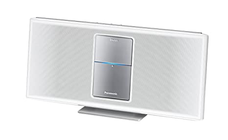Panasonic SC-HC05EG-W Micro chaîne Station d'accueil iPod/iPhone 40 W Bluetooth Radio par internet Blanc (Import Allemagne)