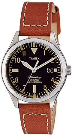Timex Waterbury Red Wing Shoe Leather: TW2P84600