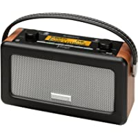 Roberts Vintage DAB/FM RDS Portable Radio (Black/Brown)