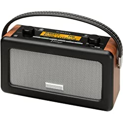 Roberts Vintage DAB/FM RDS Portable Radio - Black/Brown
