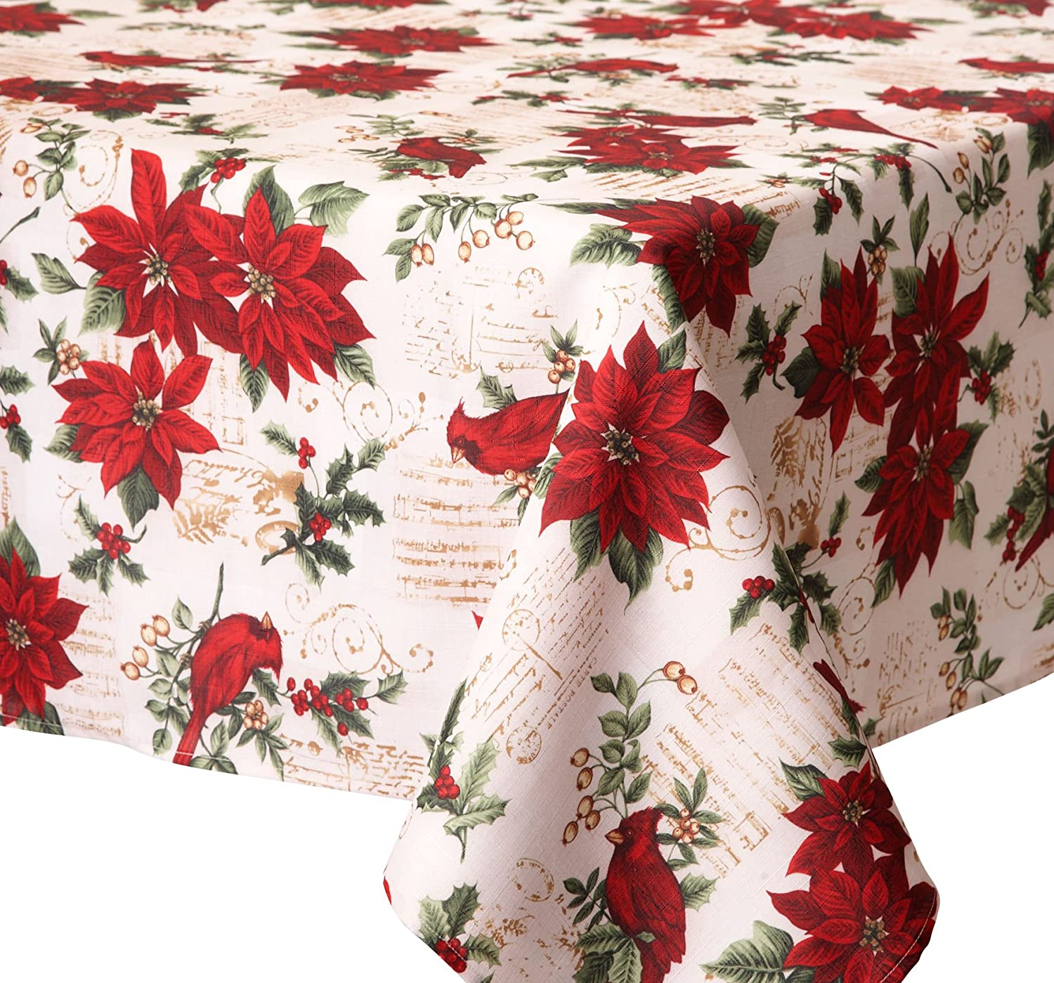 Poinsettia Table Covers