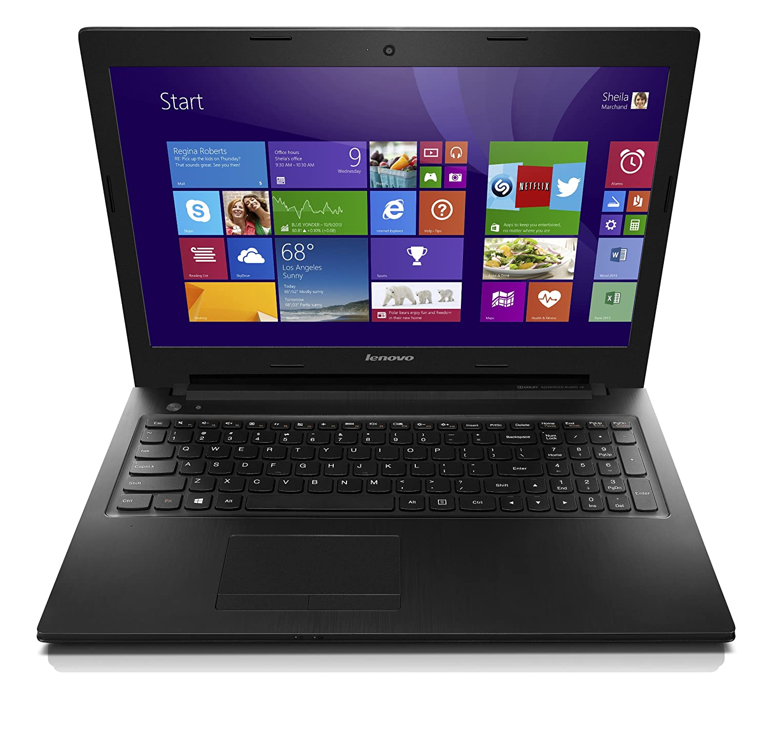 Lenovo IdeaPad G505s 59406417 15.6-Inch Laptop Black