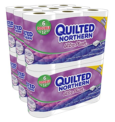 Quilted Northern Ultra Plush Double Rolls (36 Rolls) $17.49