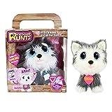 KD Kids Rescue Runts Husky Plush Dog, White/Gray (Color: White/Gray)