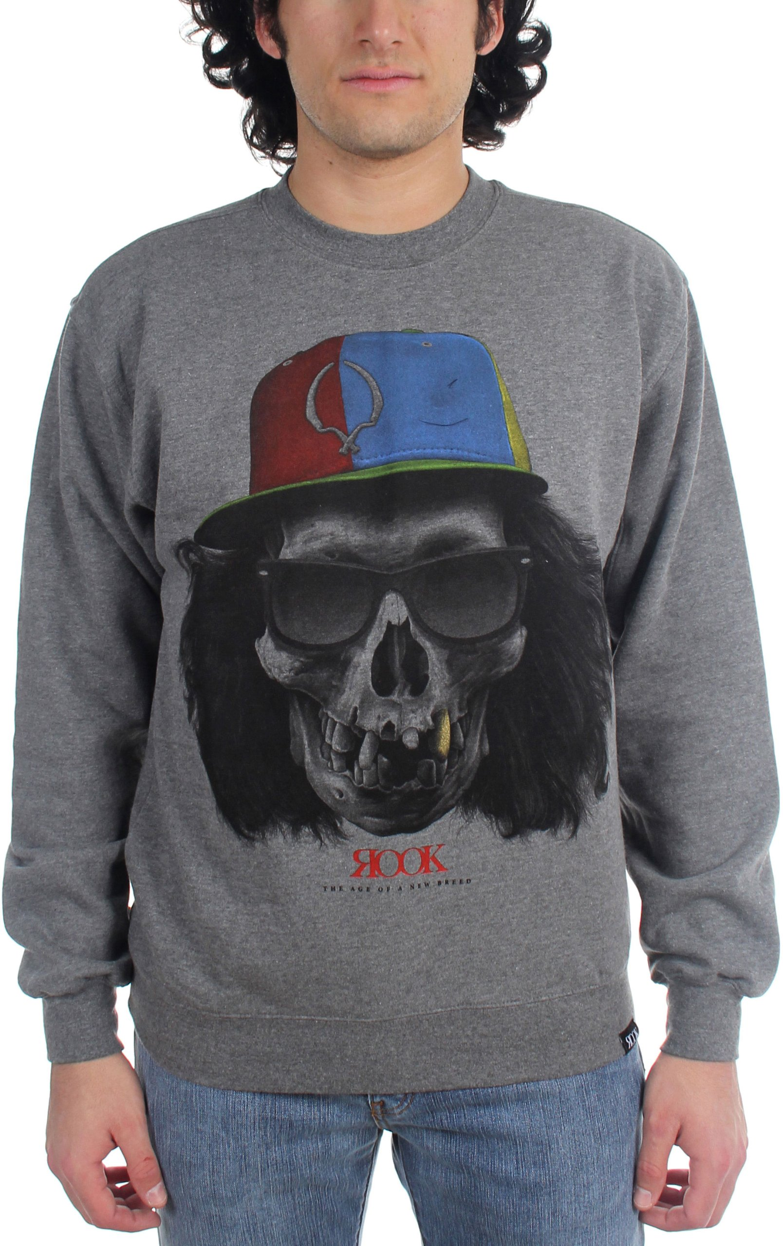 Rook - Mens Crossed Skull Sweater