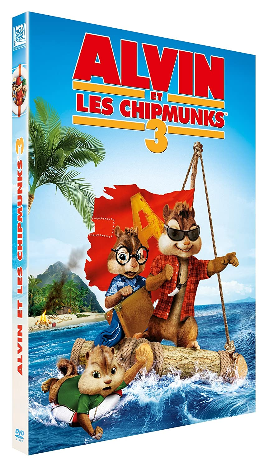 Alvin et les Chipmunks 3 = Alvin and the Chipmunks : Chip-Wrecked / Mike Mitchell, Réal. | Mitchell, Mike. Monteur