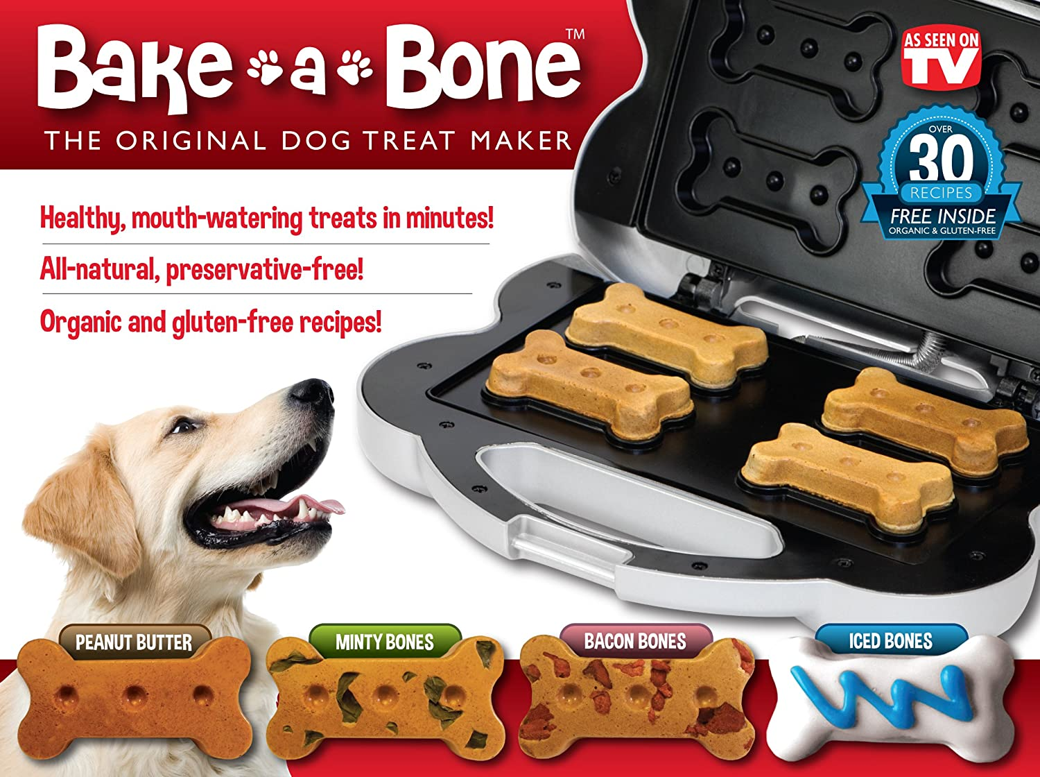 Bake A Bone Dog Treat Maker