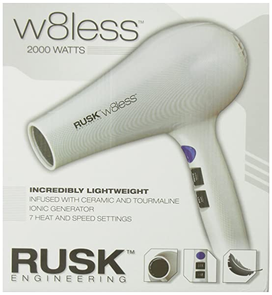 Rusk w8less hair dryer with review