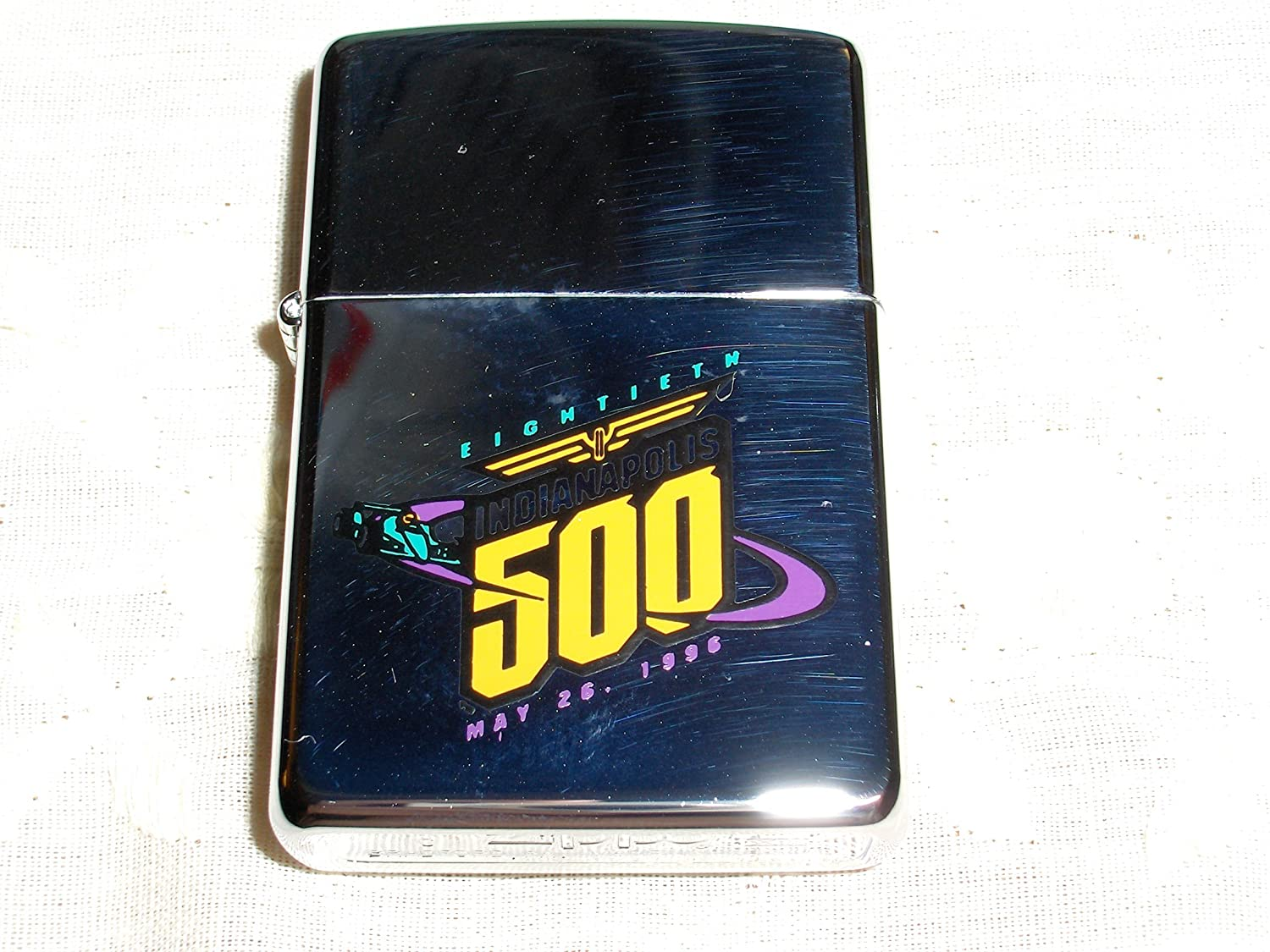 Zippo Eightieth Running of the Indianapolis 500 May 26 1996 Lighter