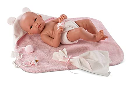 Llorens I Baby Doll Rosa, Full Vinyl-body
