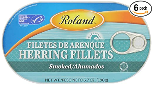 Smoked Herring Fillets Roland Smoked Herring Fillets