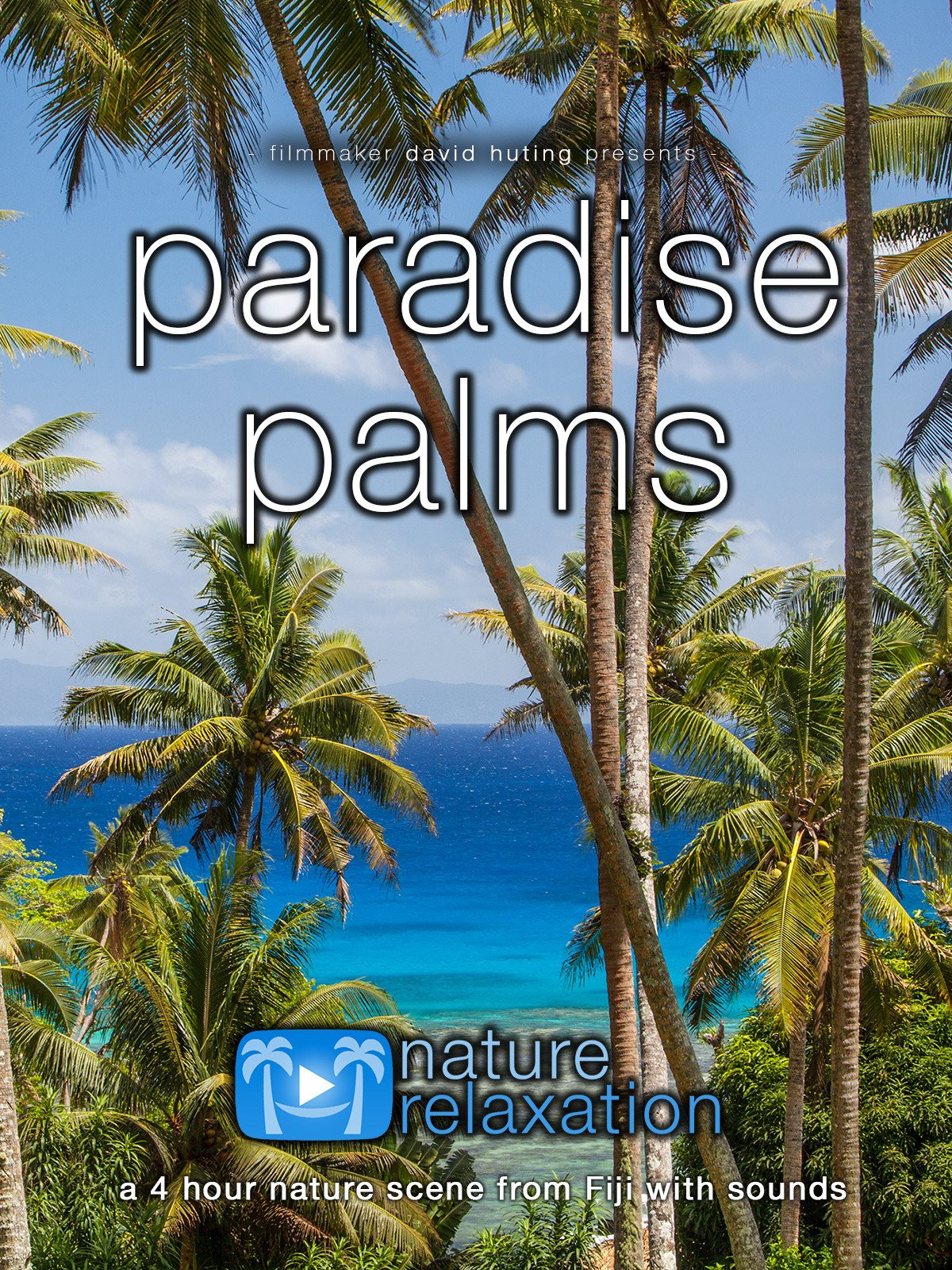 Paradise Palms: a Four Hour Long Fiji Nature Scene with Sounds