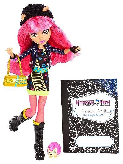 Monster High 13 Wishes Howleen Wolf Doll