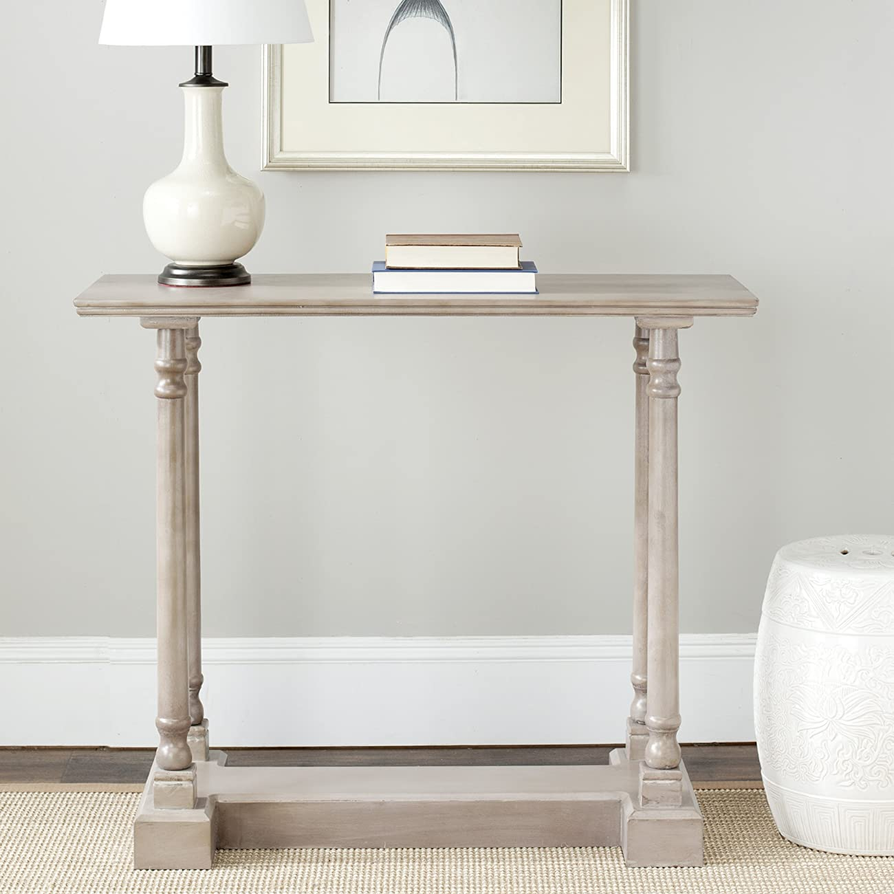 Safavieh American Home Collection Concord Console Table, Vintage Grey 3