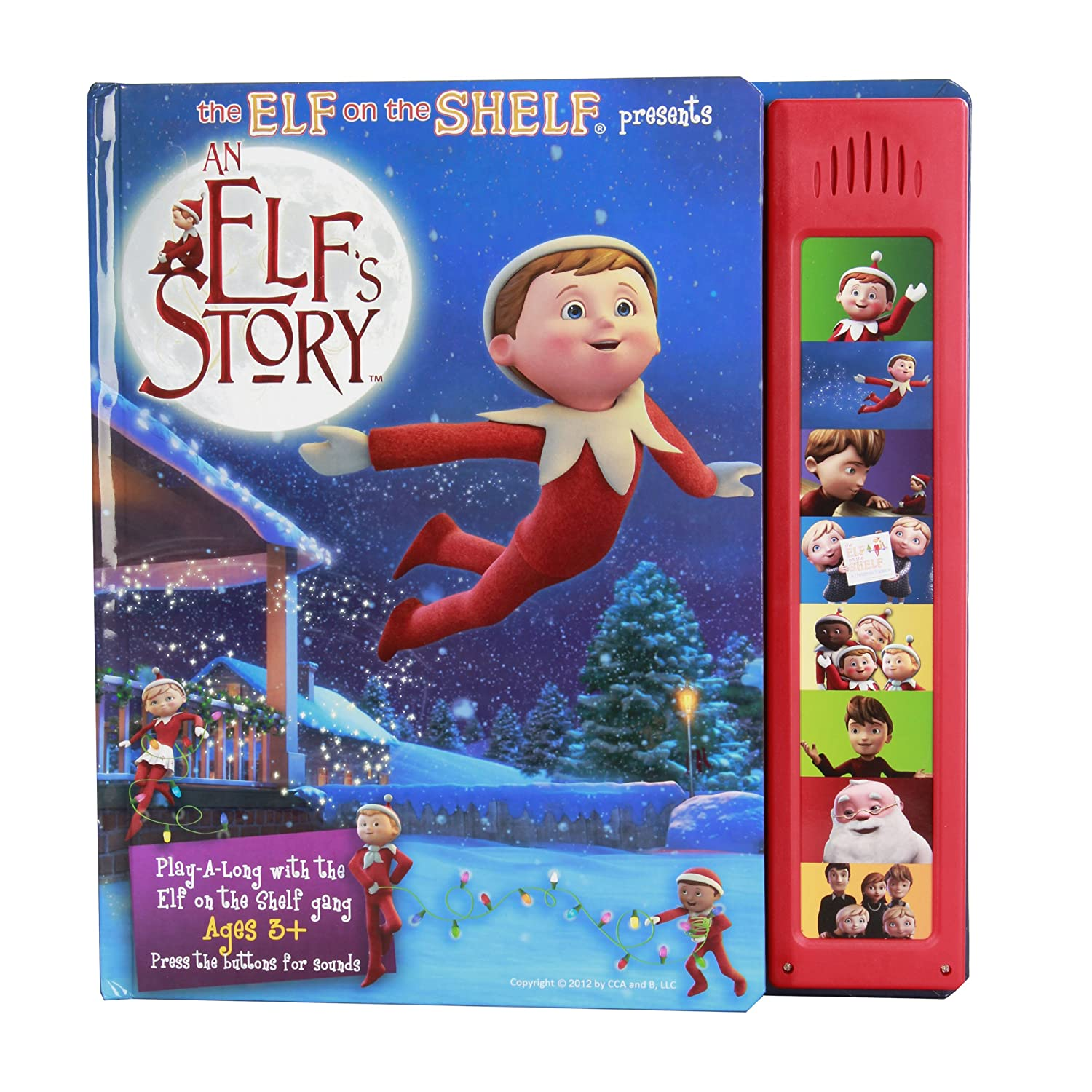 Elf on the Shelf: An Elf's Story Sound Book Great Gift
