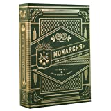 theory11 Monarch Playing Cards (Green) (Color: Green)
