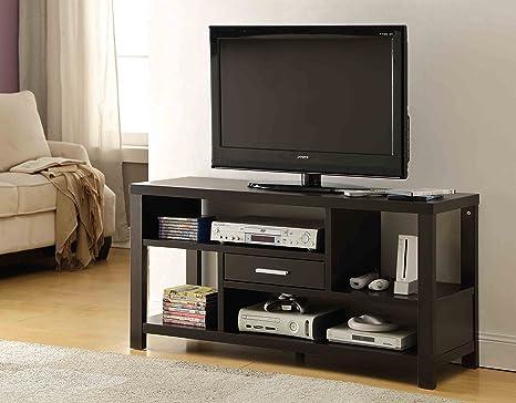 Cappuccino Finish TV LCD Plasma Entertainment Center Stand