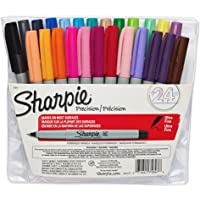 Sharpie 24-Count Ultra Fine Point Permanent Markers (Assorted Colors)