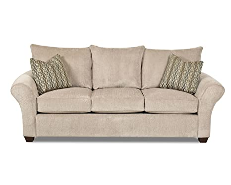 Klaussner Platinum Fletcher Sofa, 96 by 38 by 32-Inch